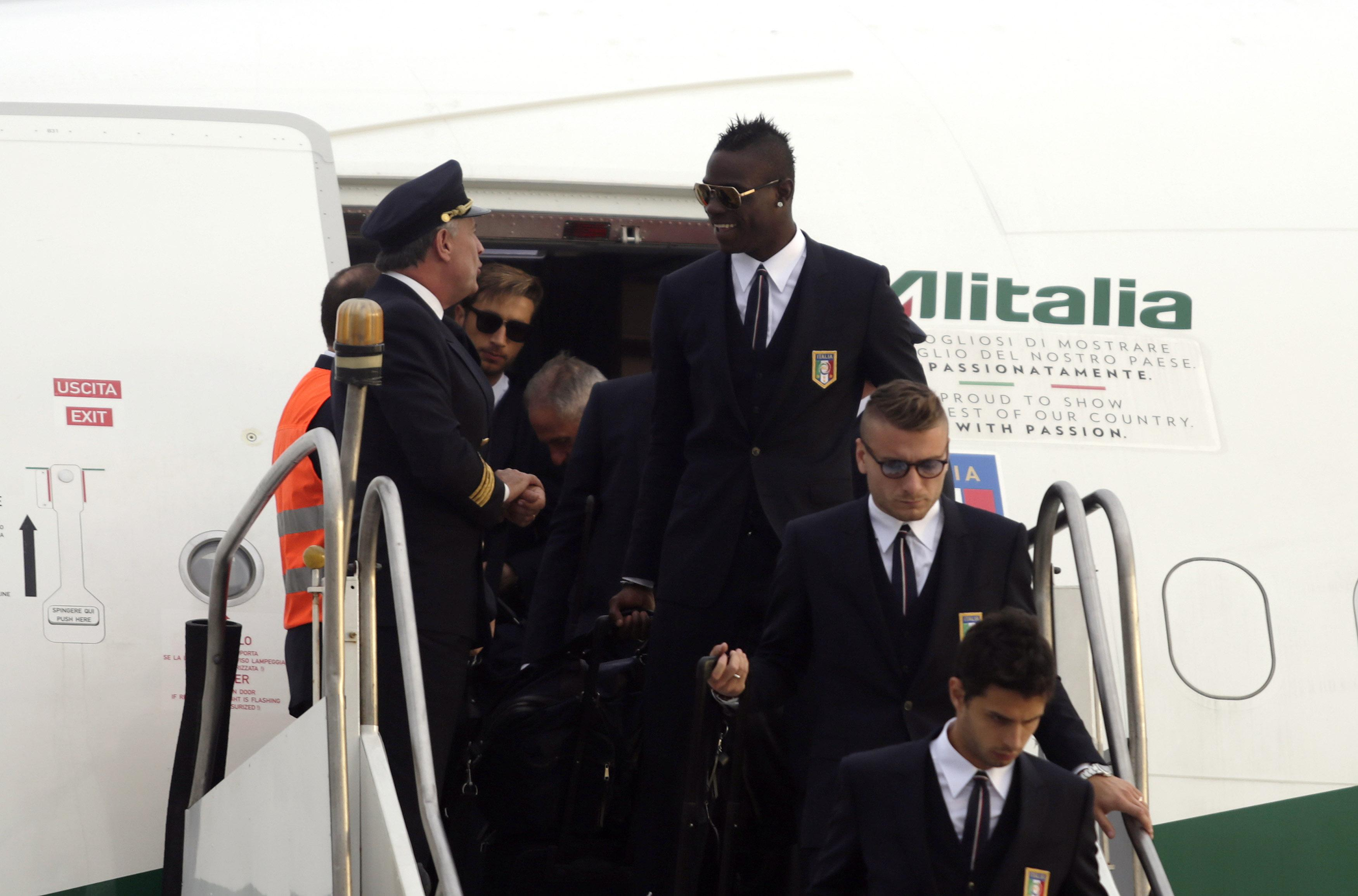 2014 World Cup - Italy Arrival