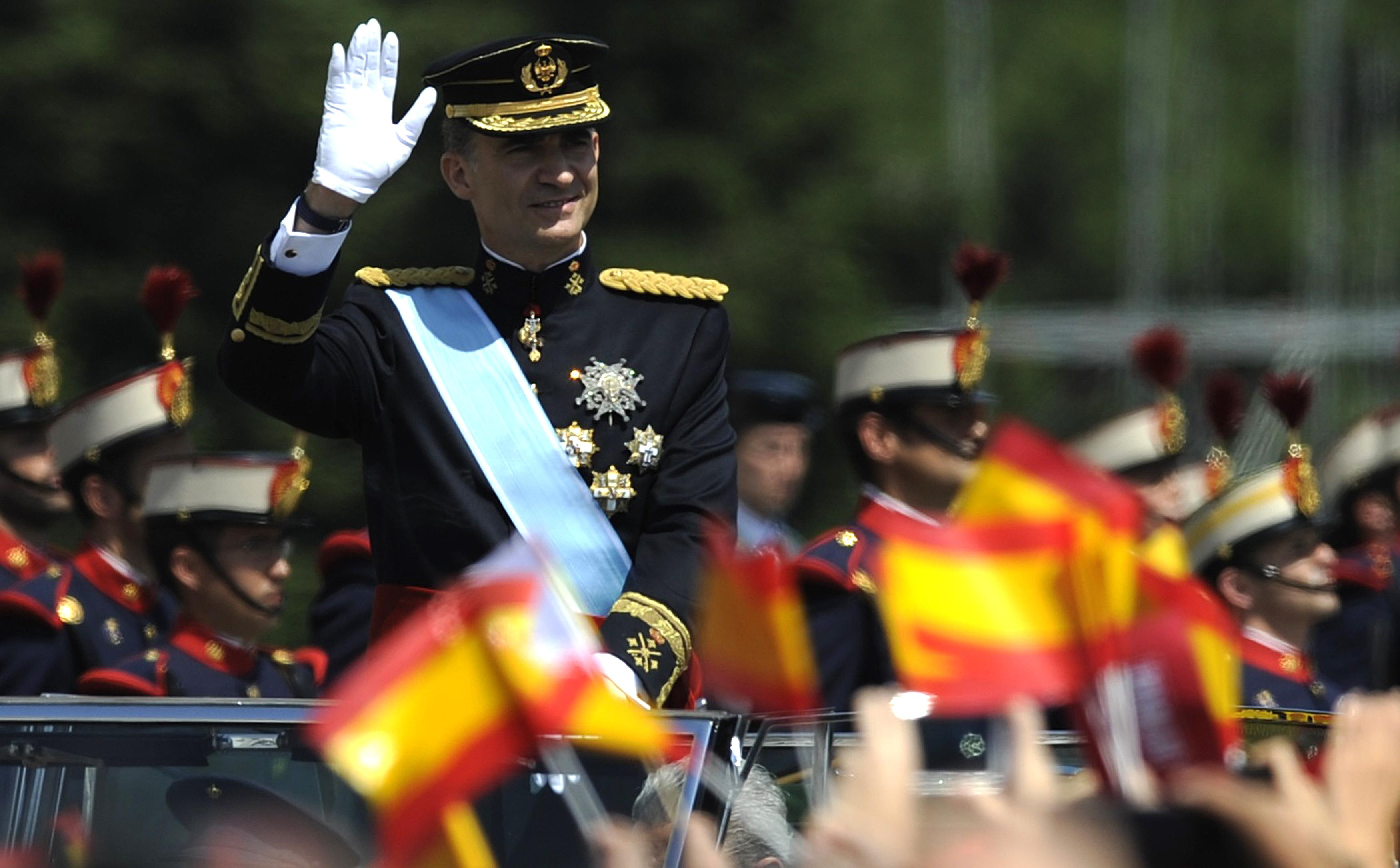 King of Spain photos