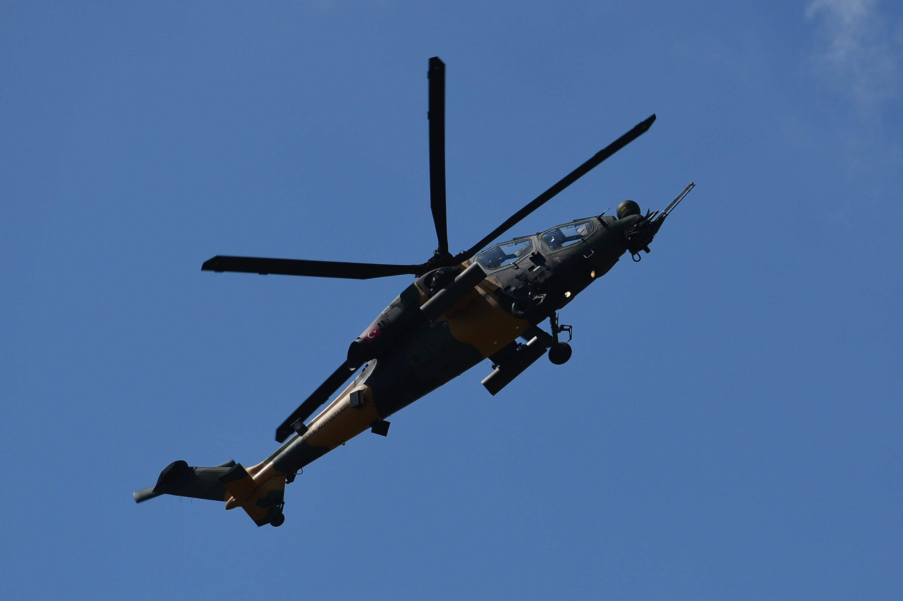 Farnborough Airshow Tai T129 Atak