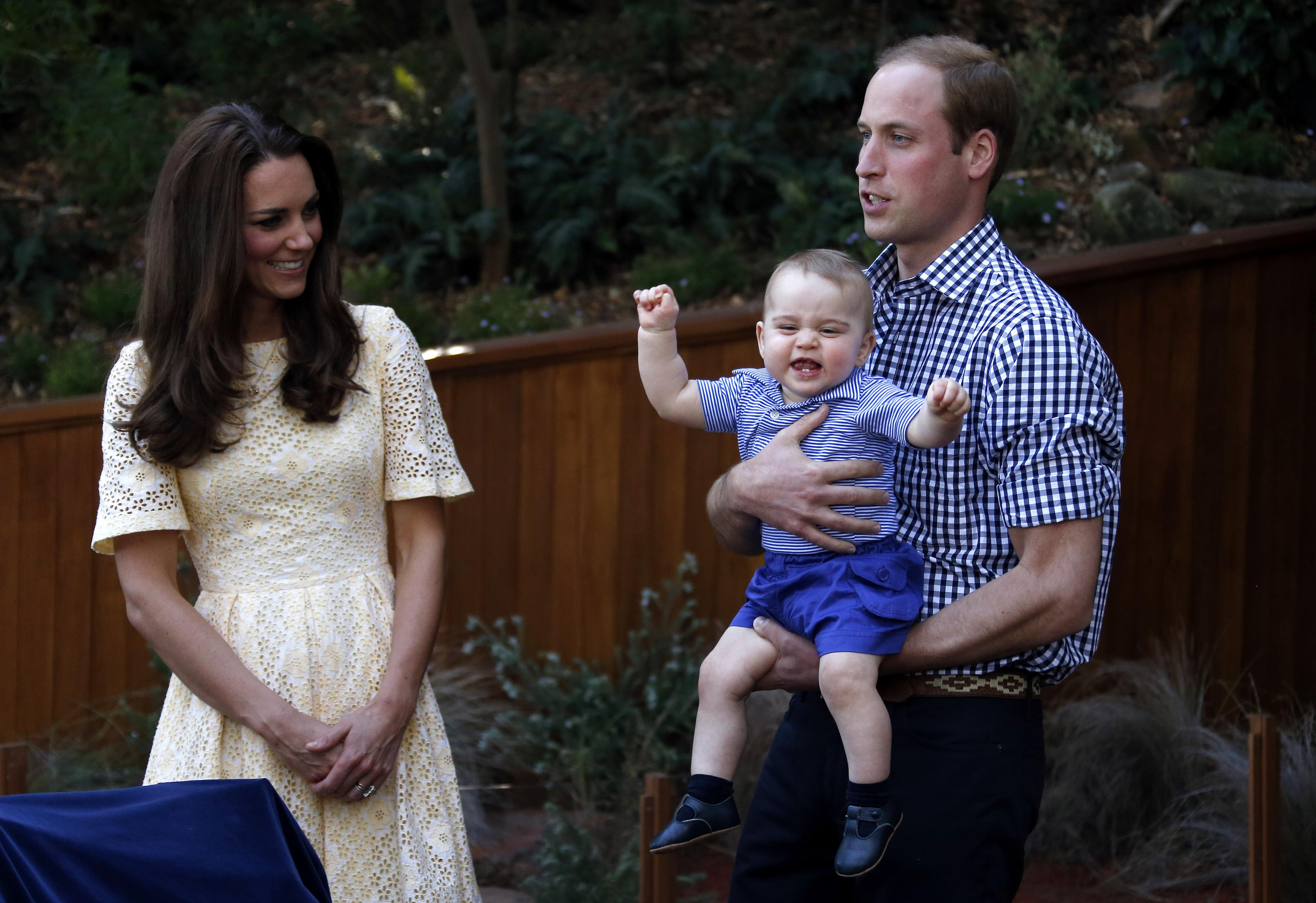 Happy Prince George face