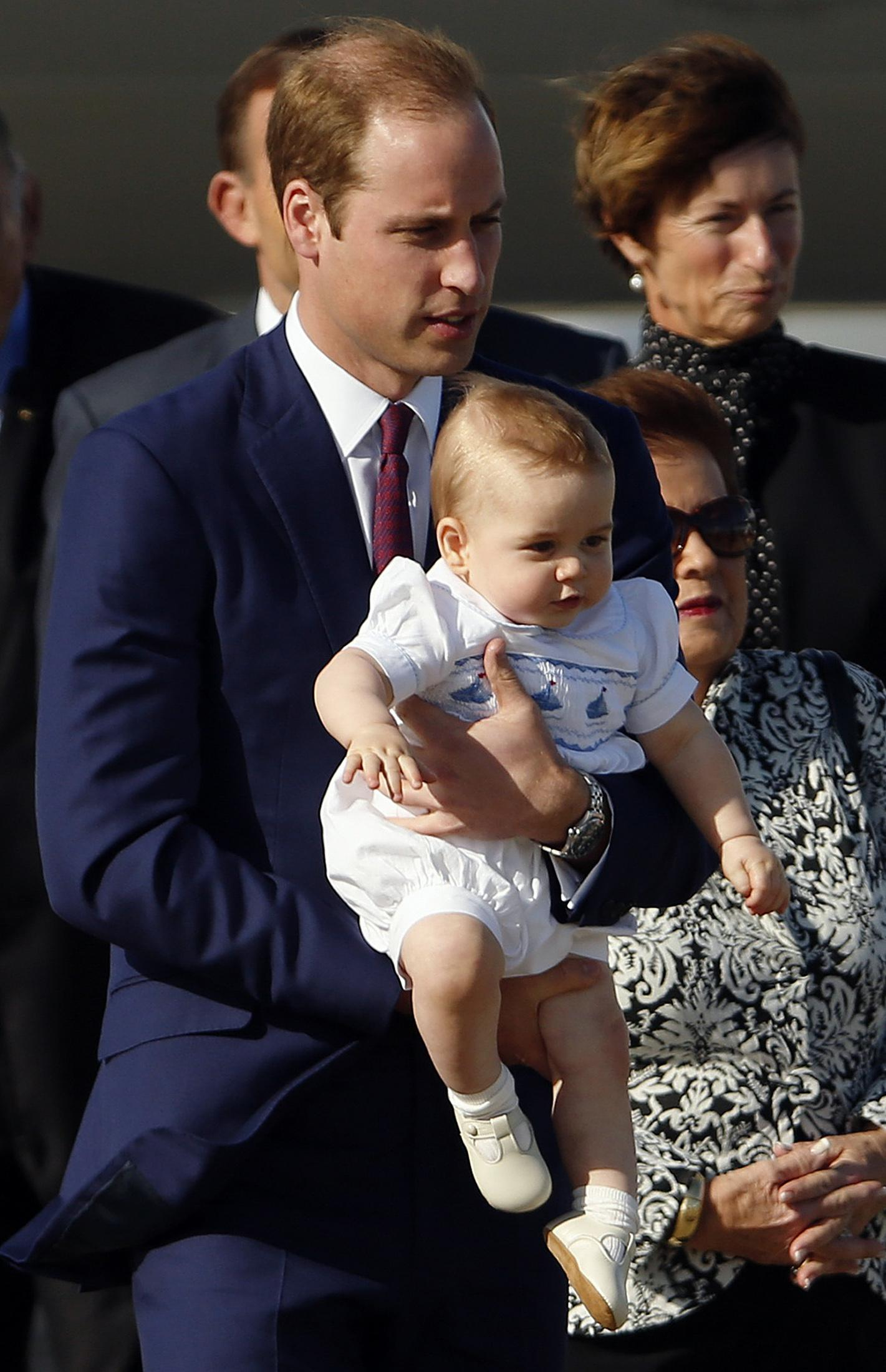 Prince George fashion