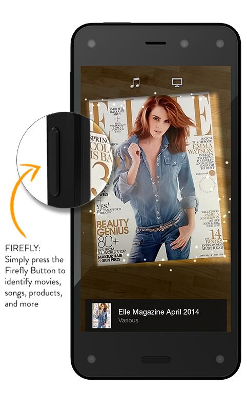 Amazon Fire Phone Review Firefly Feature