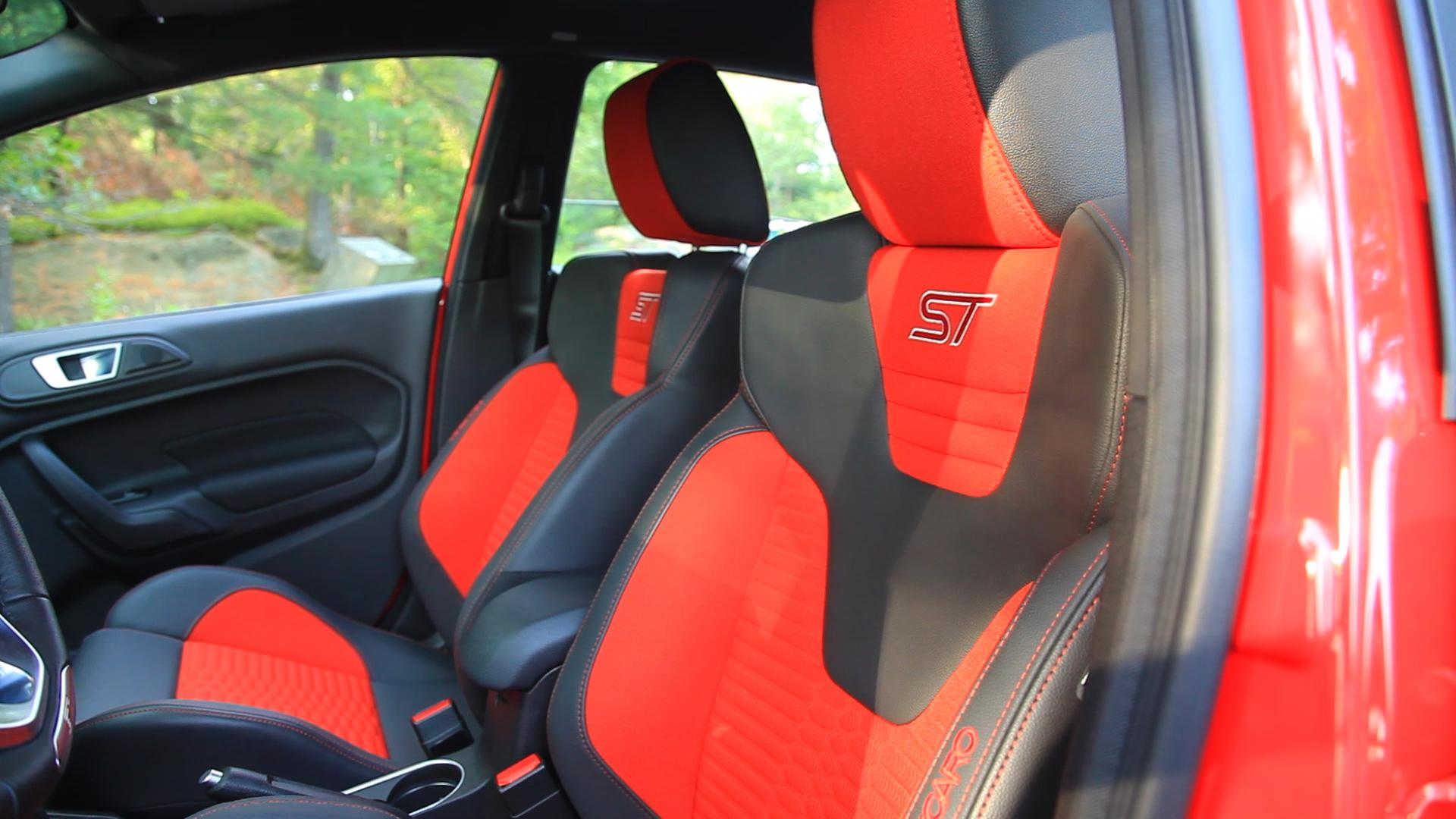 how to clean ford fiesta st recaro seats