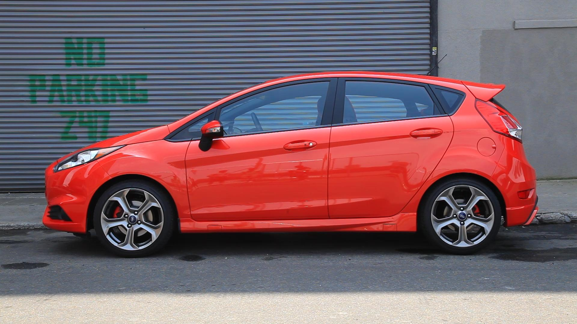 2014 Ford Fiesta ST Side Profile
