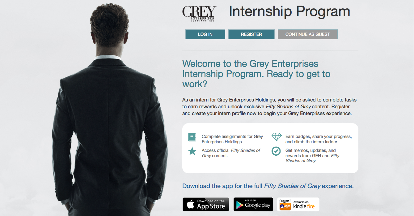 50 Shades of Grey Internship Program