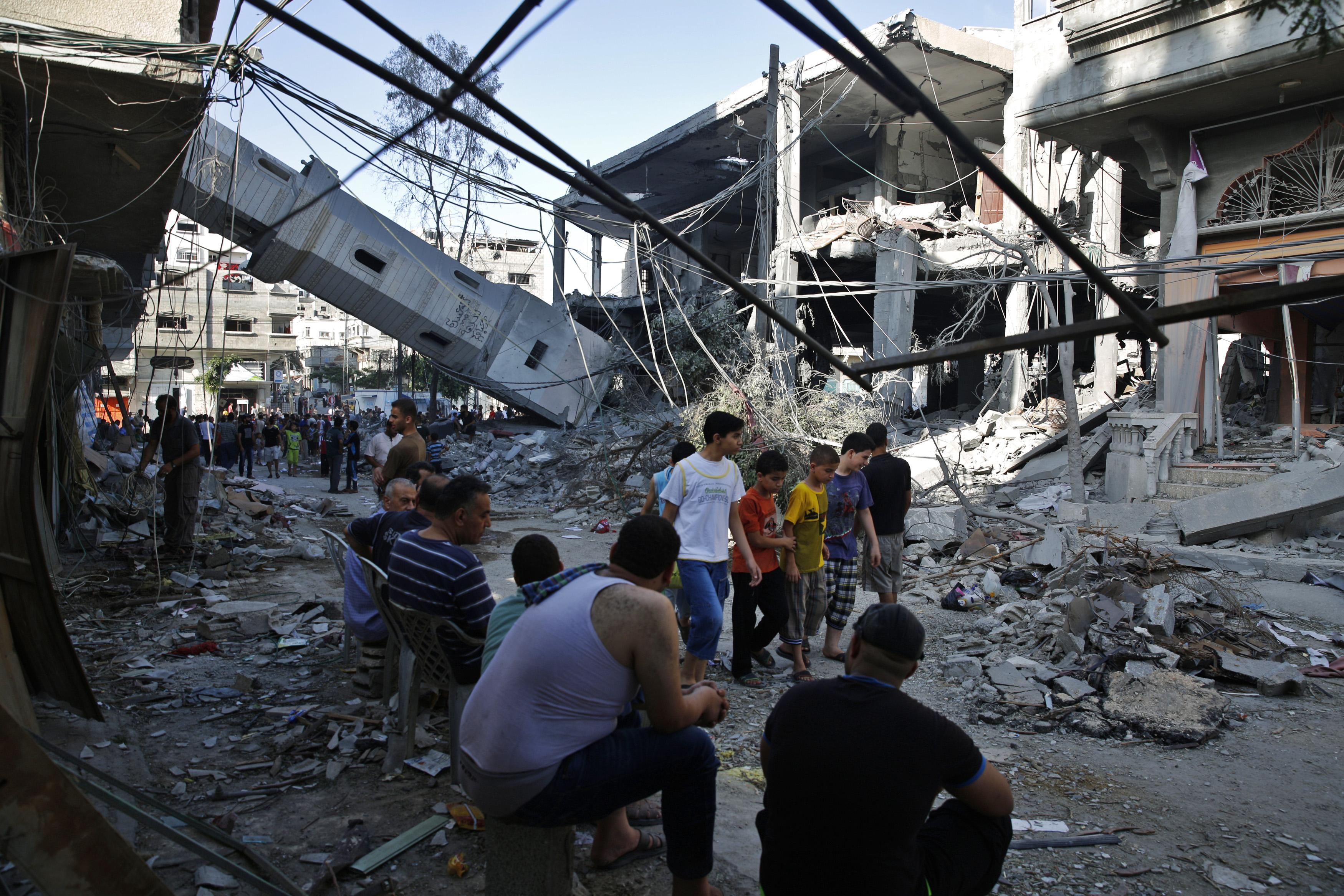 Gaza Attacks_July30