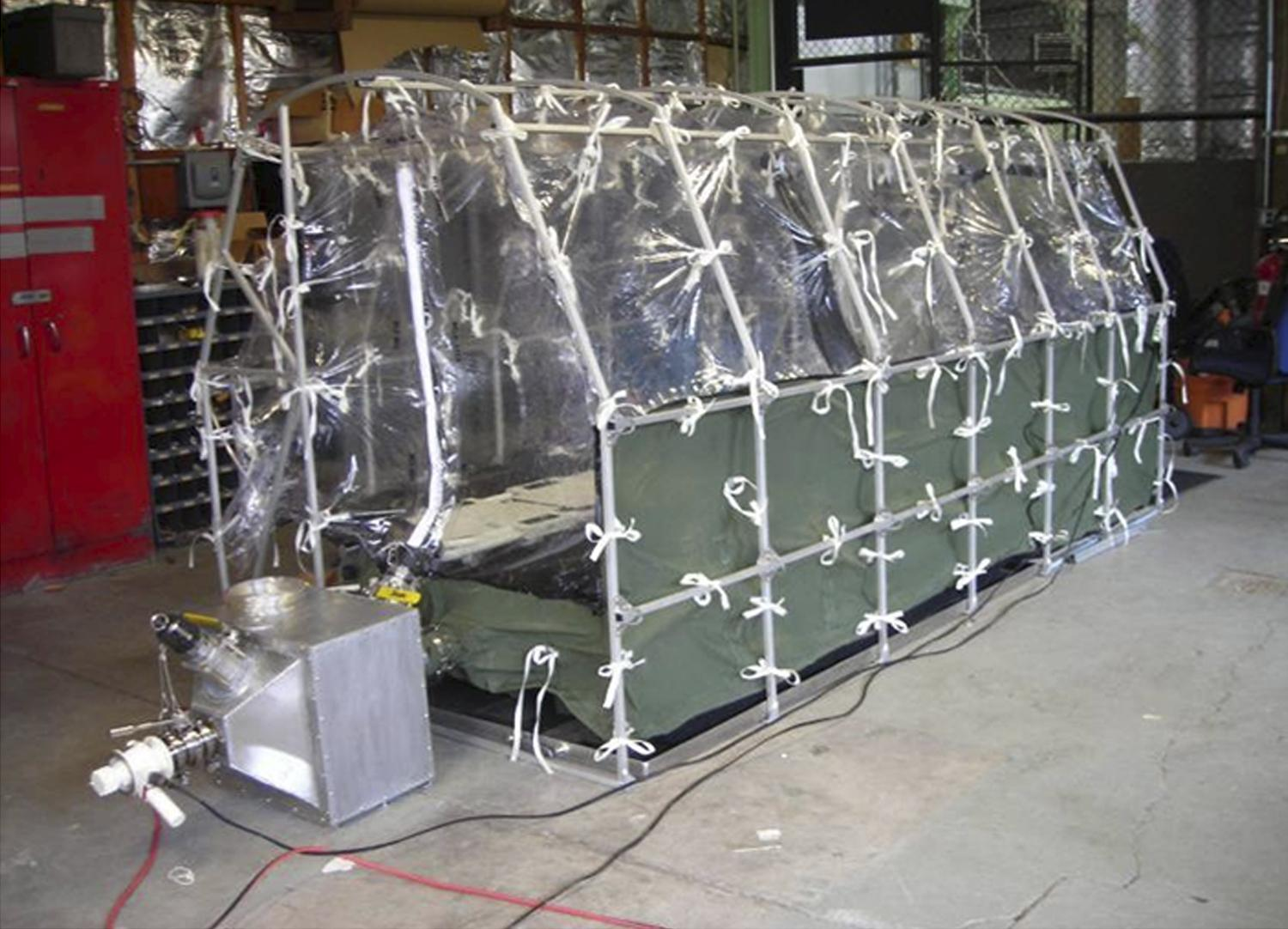 Aeromedical Biological Containment System