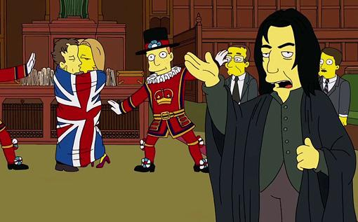 Benedict Cumberbatch Simpsons