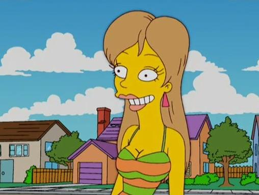 mandy moore simpsons