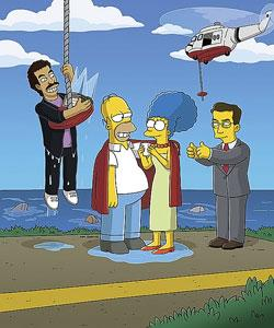 Stephen colbert Simpsons
