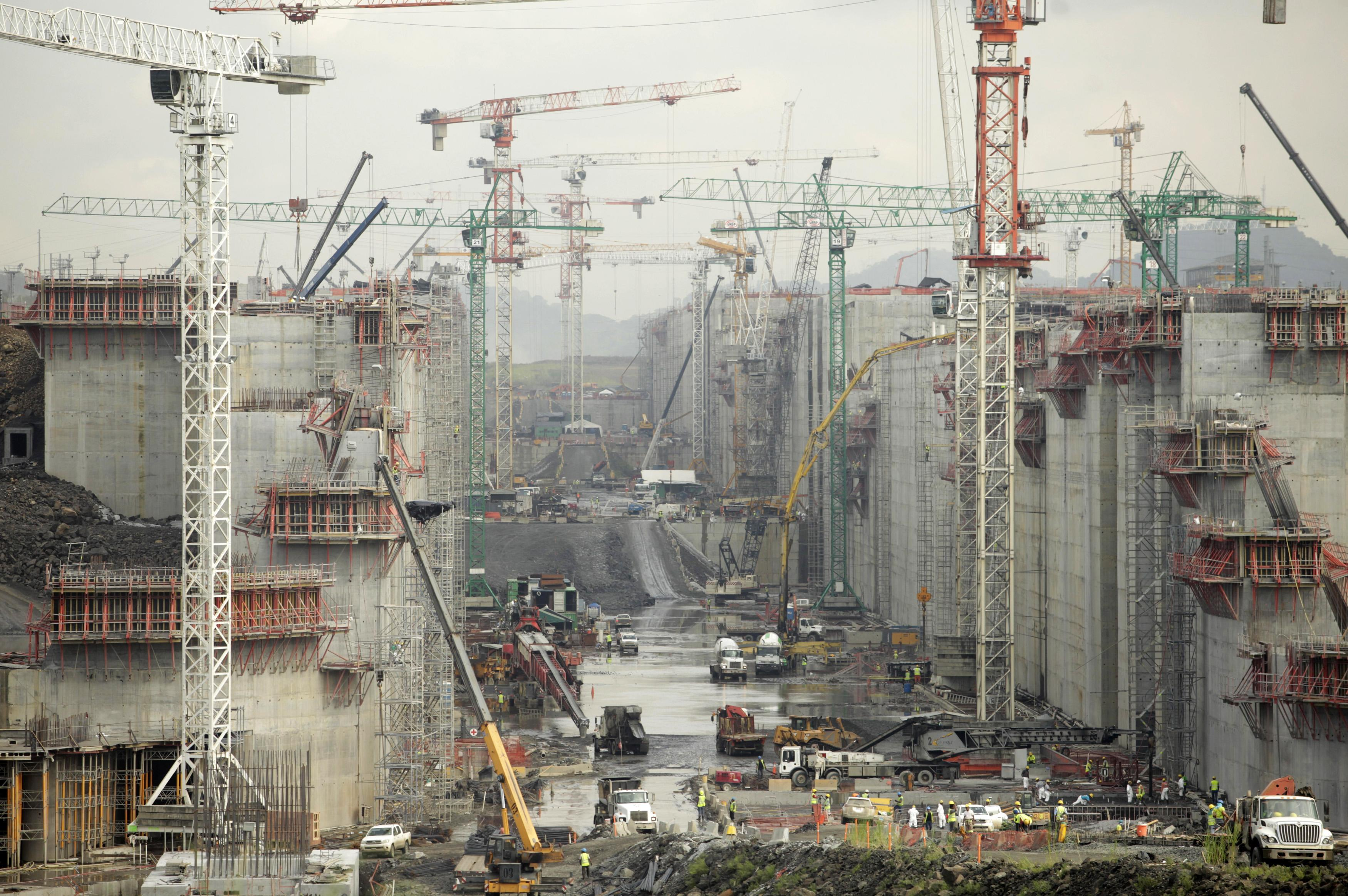 Panama Canal Construction