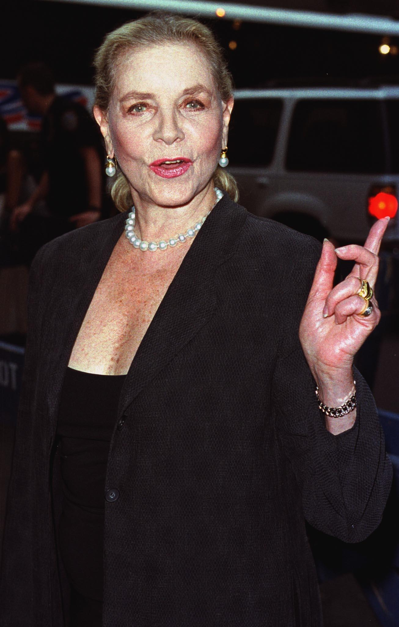 Lauren Bacall Over The Years: A Look Back At Actress And ... Lauren Bacall Grave