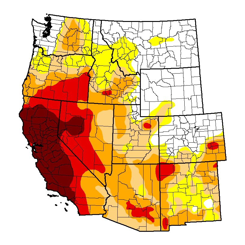 U.S. West Drought 2014