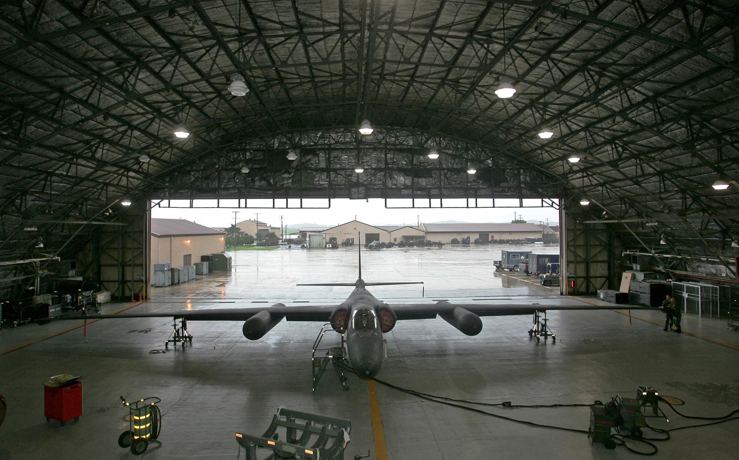 Lockheed U-2 in Hangar