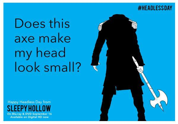 Sleepy Hollow National Beheading Day