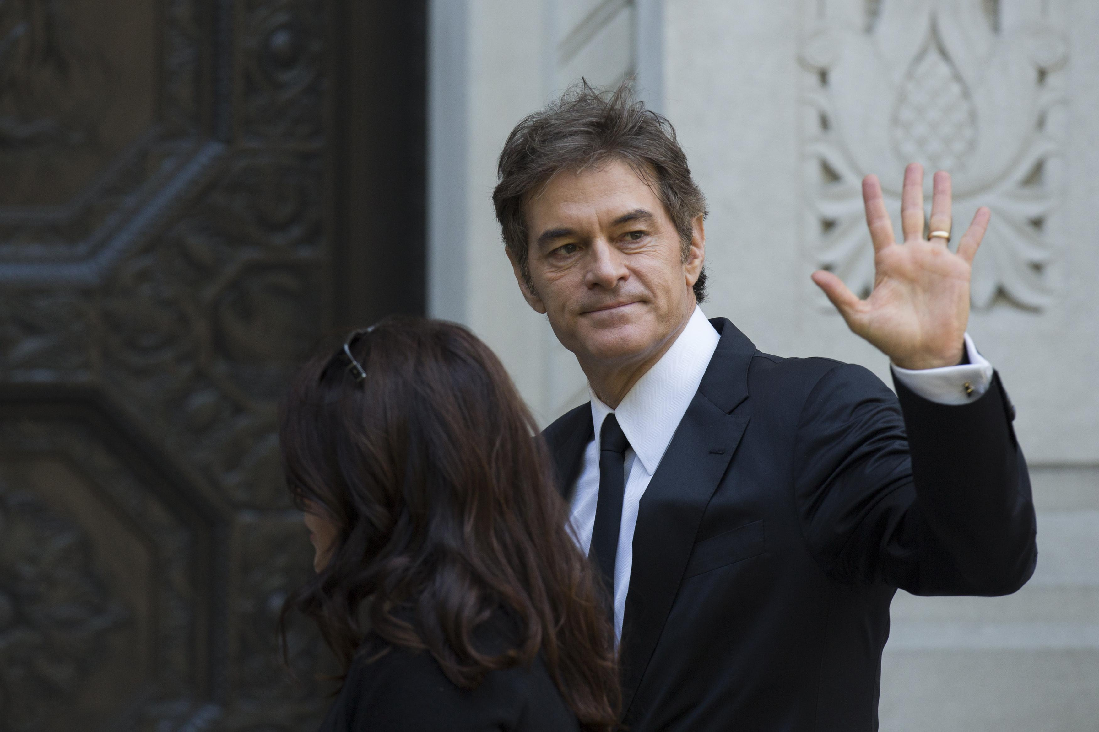 Joan Rivers Funeral: Dr. Oz