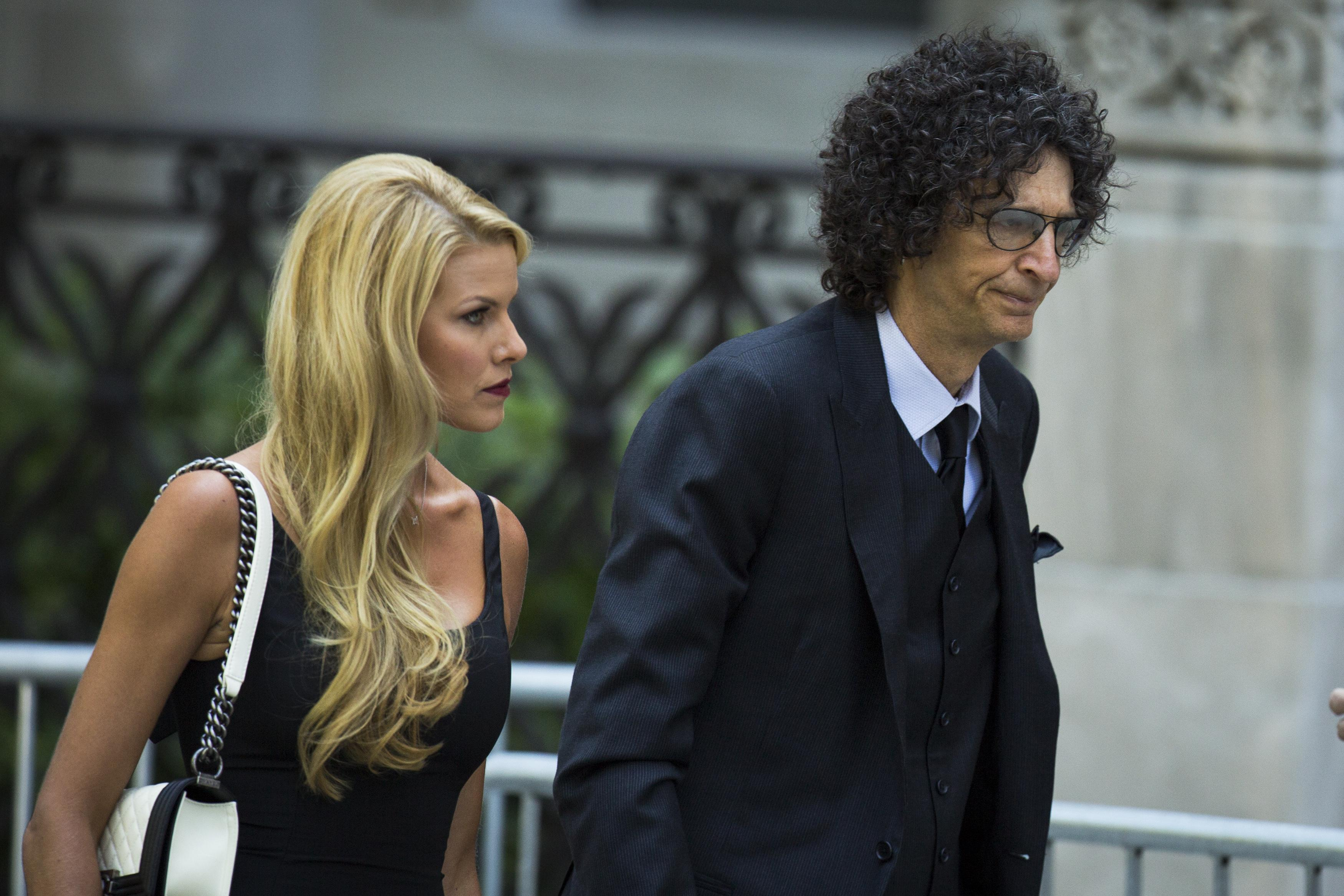 Joan Rivers Funeral: Howard Stern