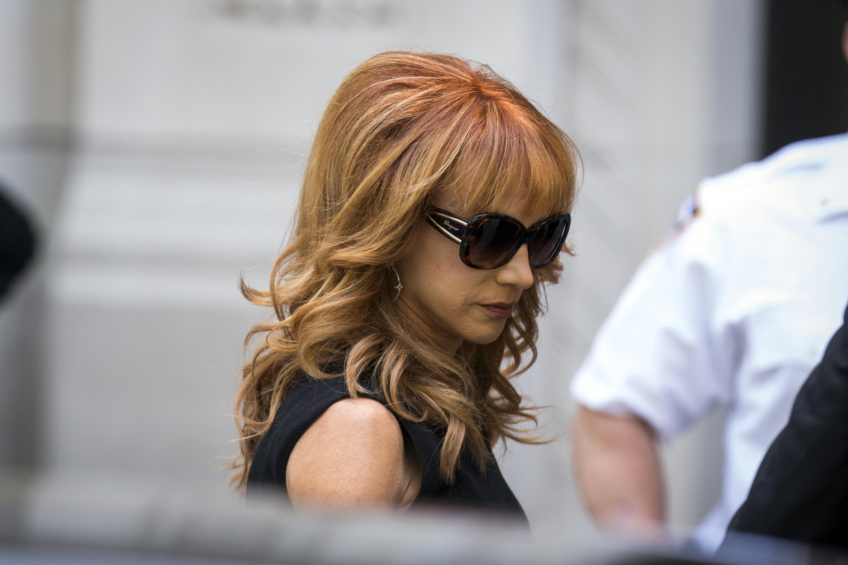 Joan Rivers Funeral: Kathy Griffin