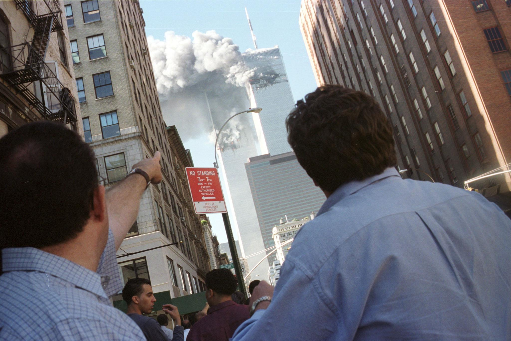 9/11 Attacks In Photos: 15 Iconic Images From Sept. 11