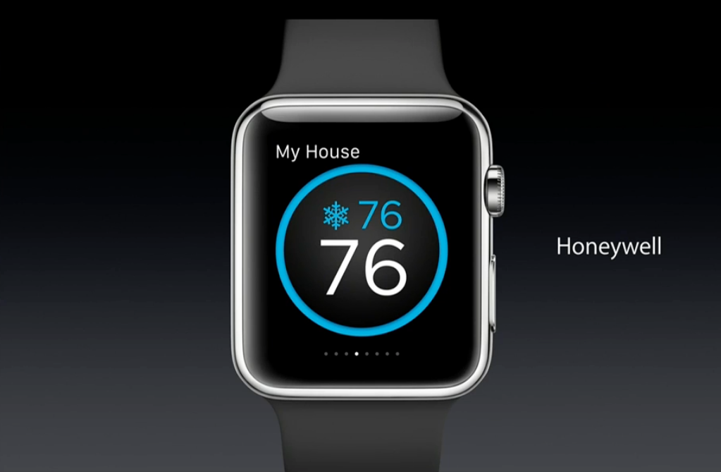apple watch apps features honeywell