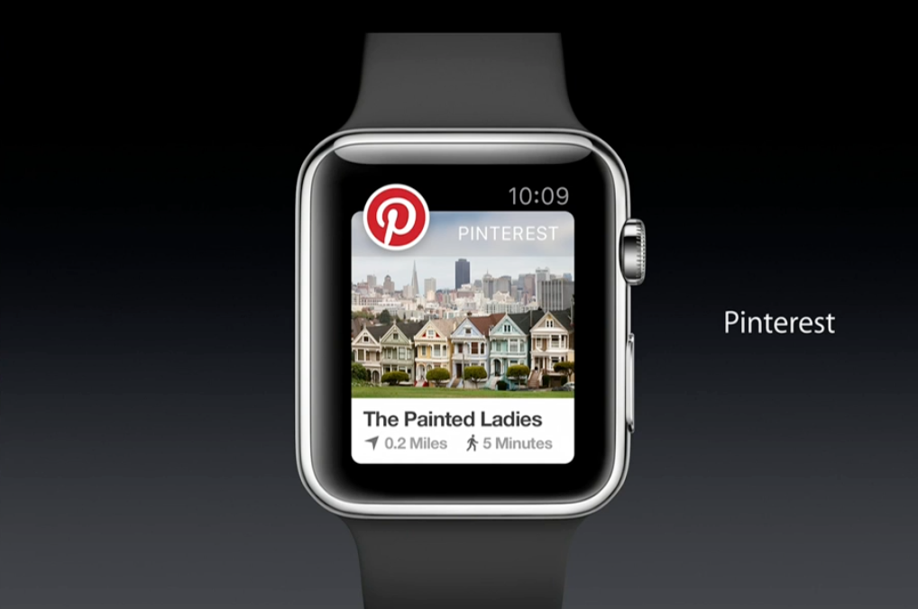 apple watch apps features pinterest