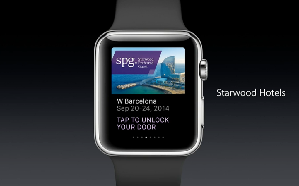 apple watch features apps starwood