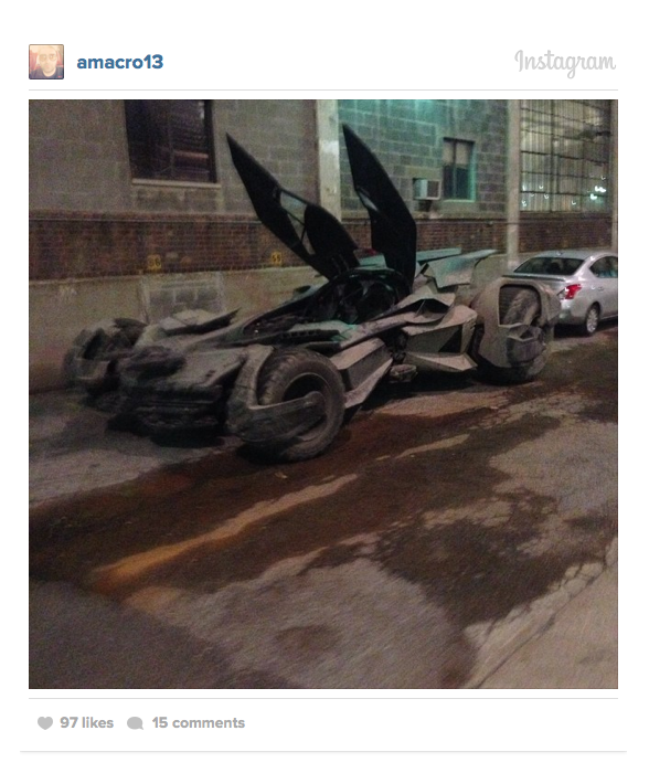 Instagram batmobile