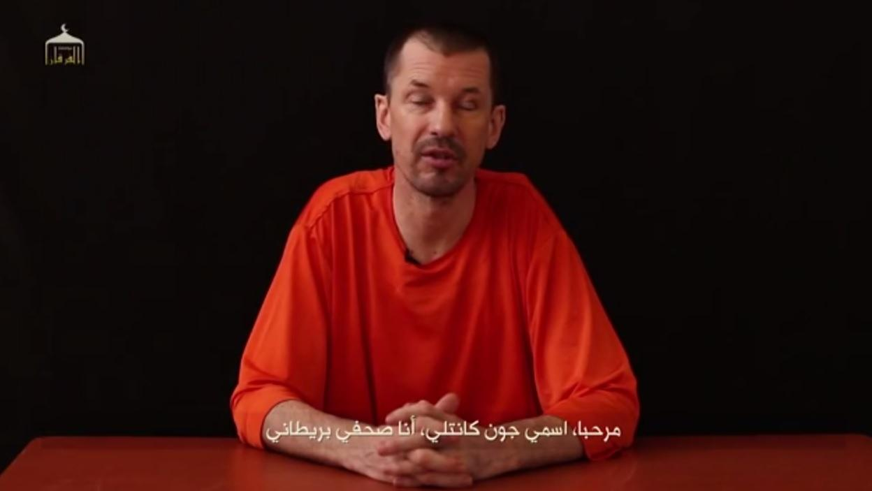 ISIS Propaganda Video 2014: John Cantlie Says Hostages Were Waterboarded