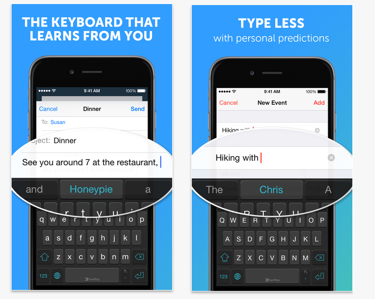 Ios 8 5 Keyboards That Make The Most Of Apple S New Mobile Os