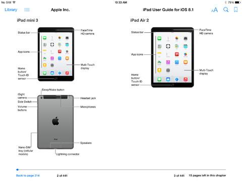 iPad User Guide For iOS 8