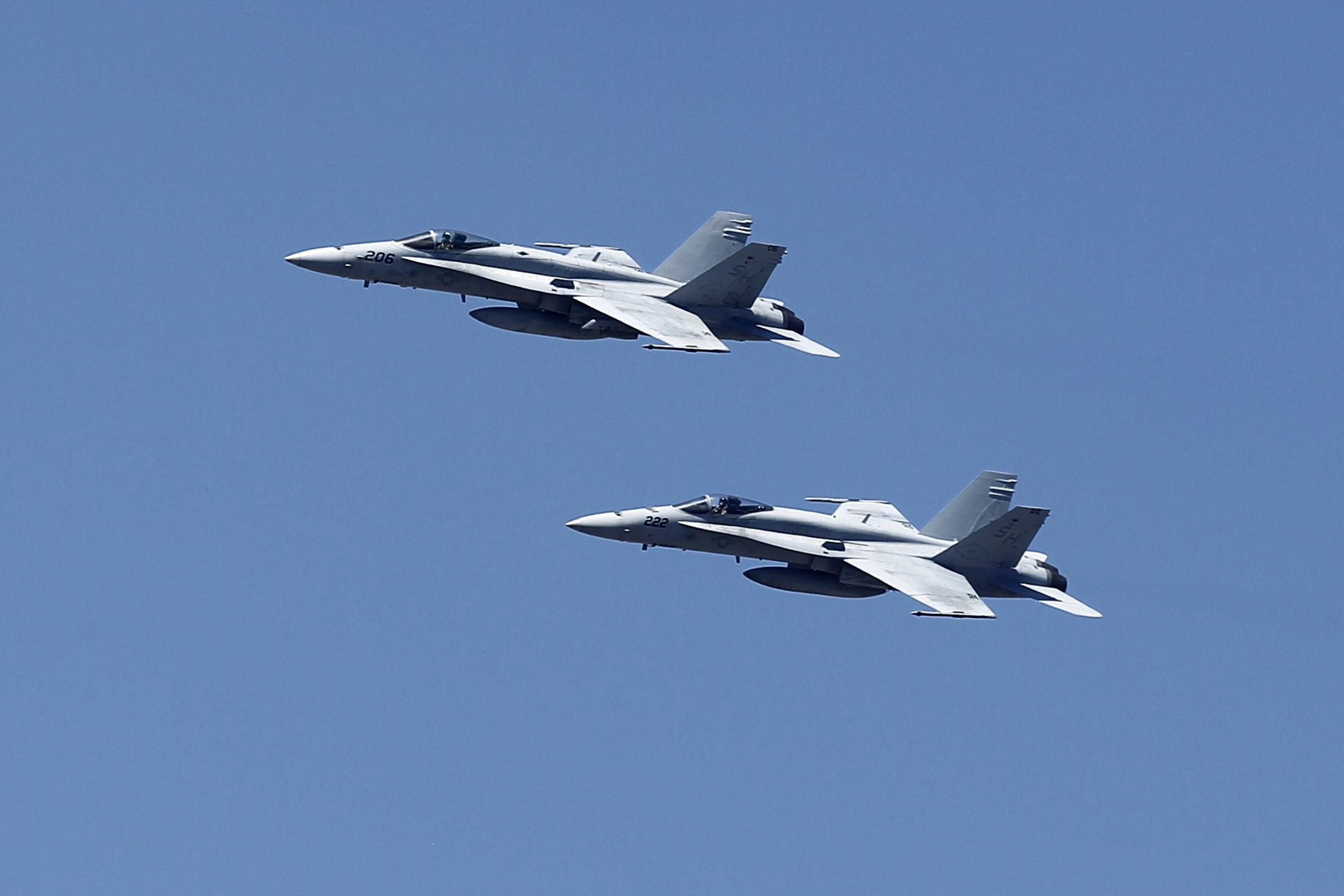 F-18 Fighter Jets