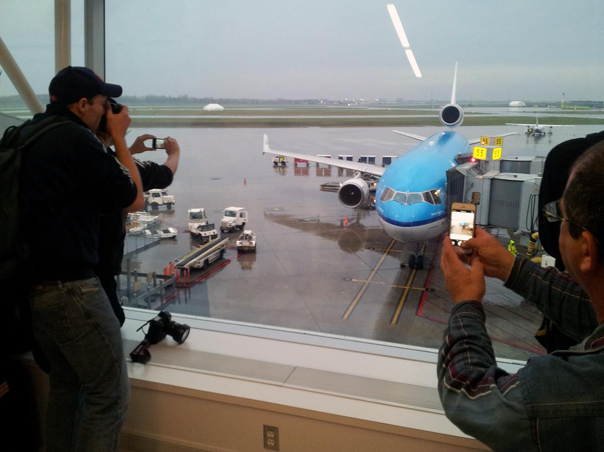 KLM MD-11 Montreal enthusiasts
