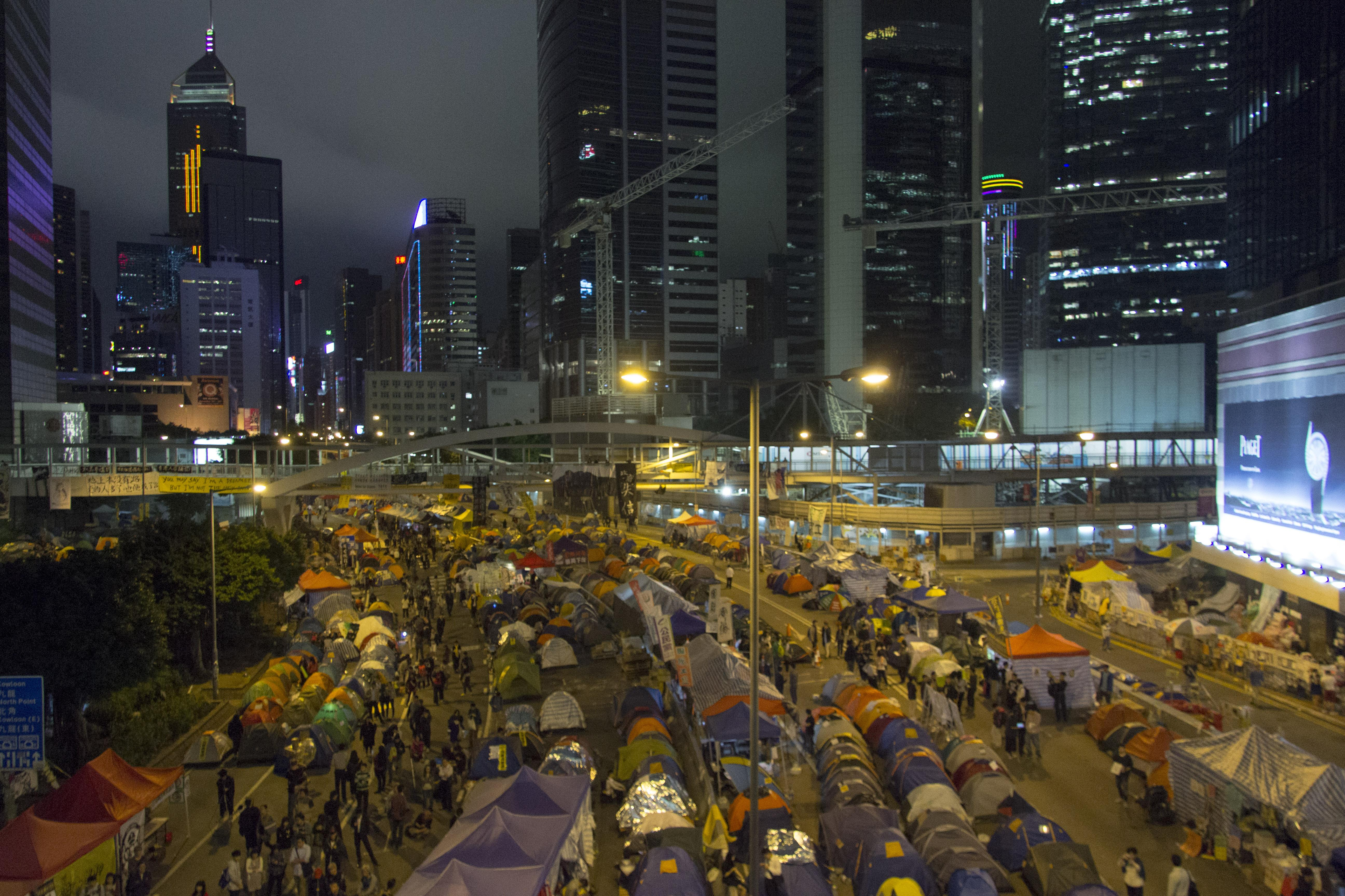 Occupy Hong Kong protests