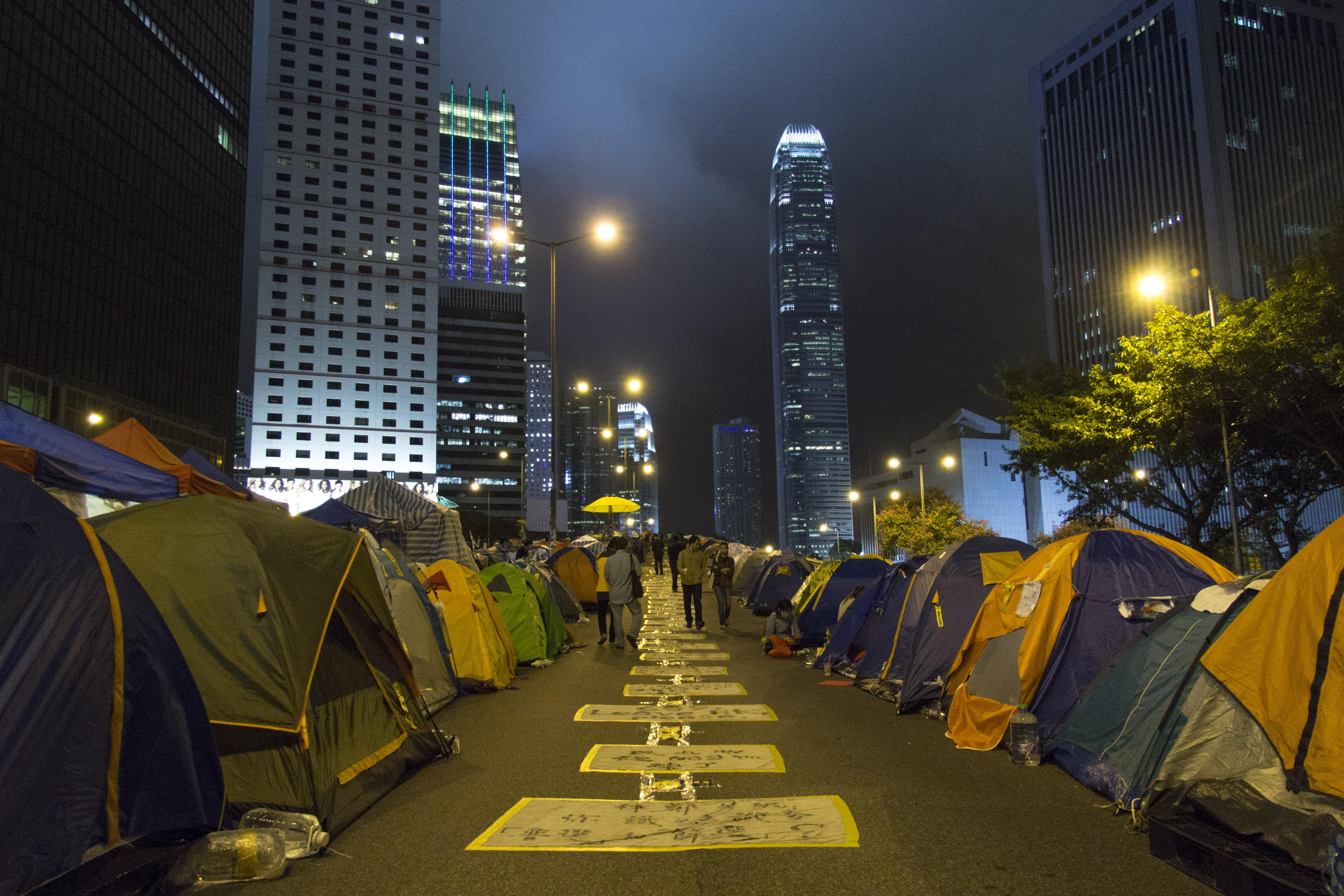 Occupy protests Hong Kong