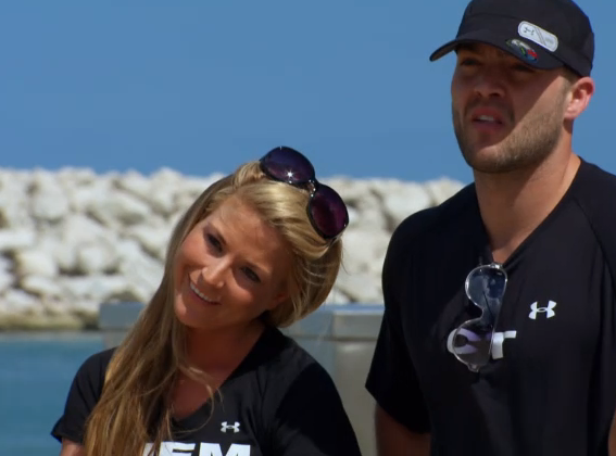 diem brown and ct tamburello relationship test