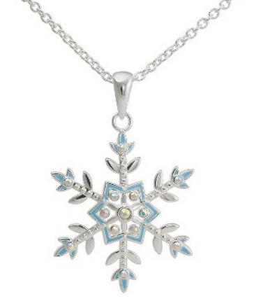 "Frozen"" snowflake necklace"