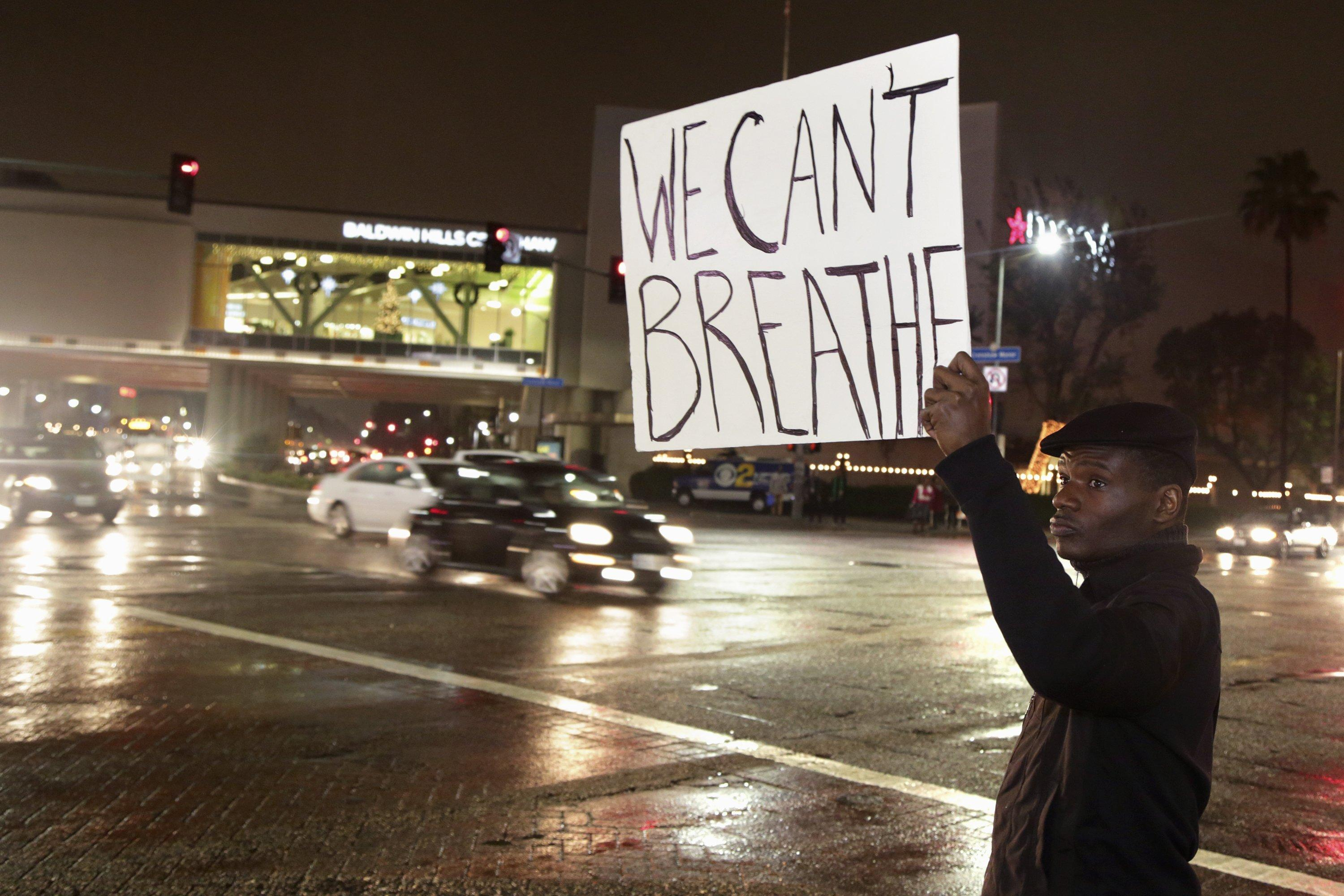 Garner 'Can't Breathe' Protests