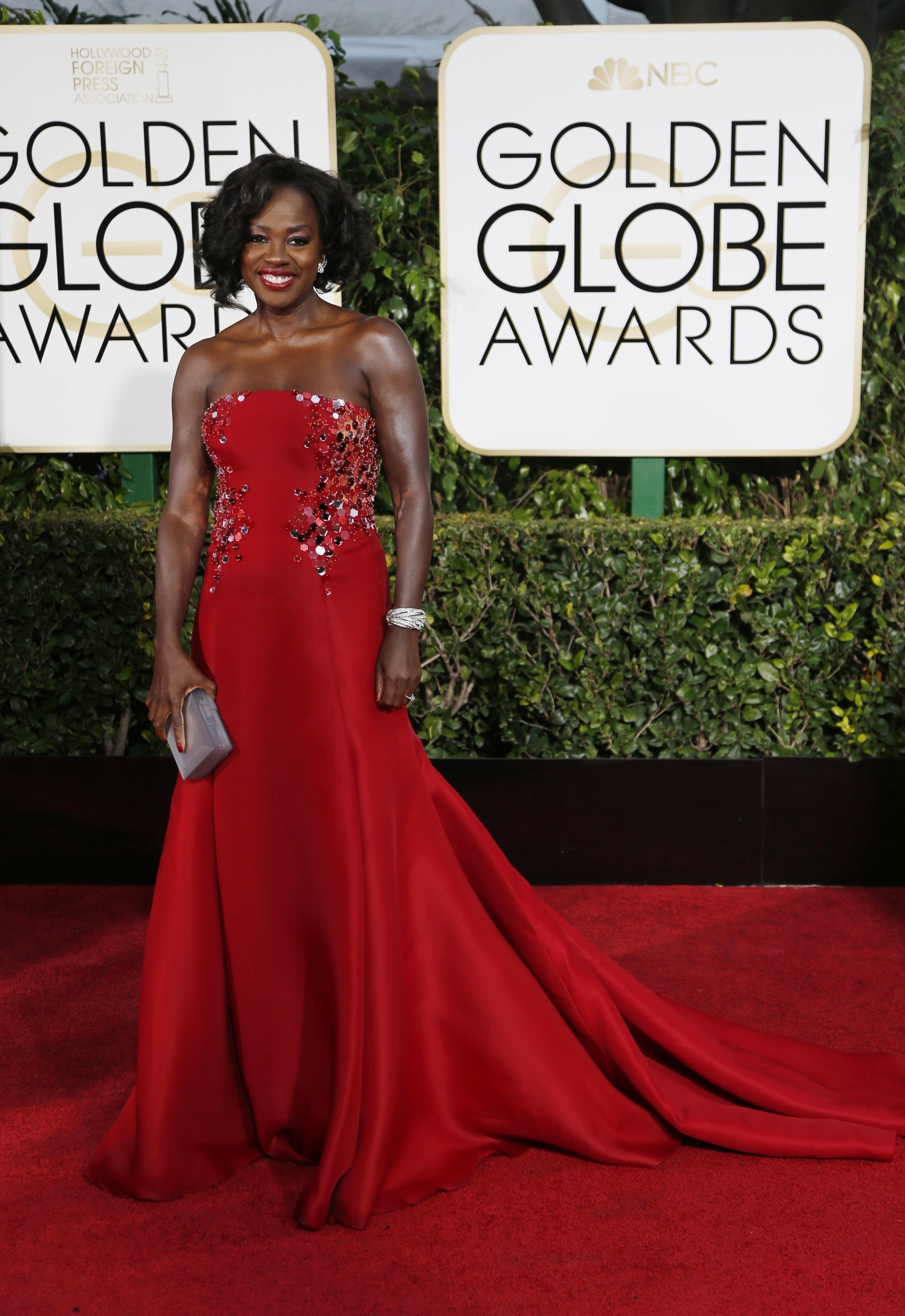 Golden Globes 2015 Red Carpet Trends From Bold Red Looks