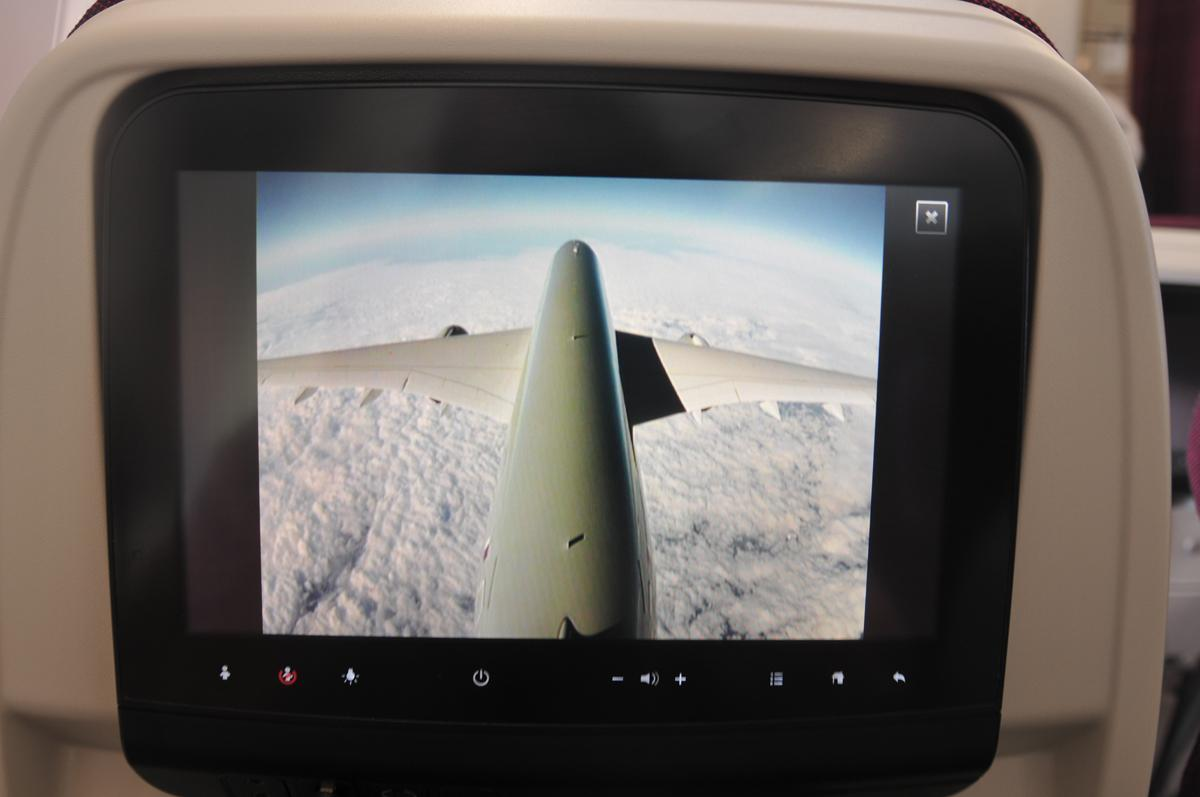 Airbus A350 onboard camera