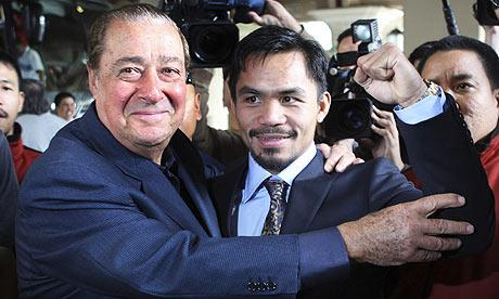 Arum: Manny Pacquiao Would Beat Floyd Mayweather Now