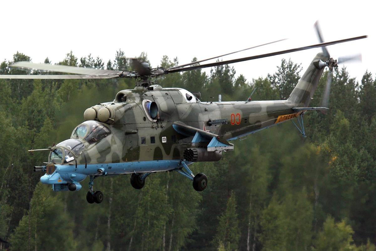 Russia Air Force Mil Mi-24