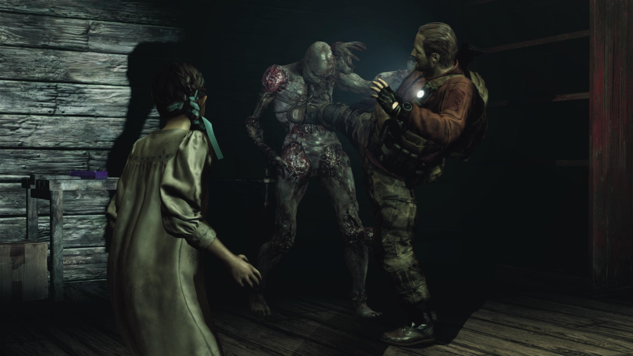 RE Revelations 2 Barry kick