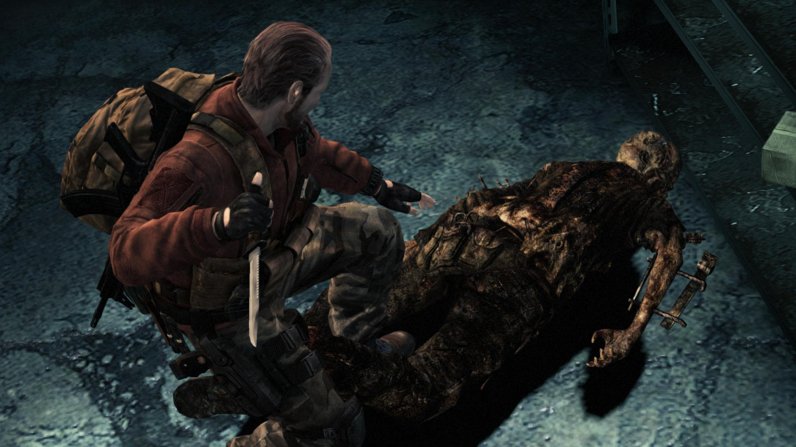 RE Revelations 2 Barry Knife