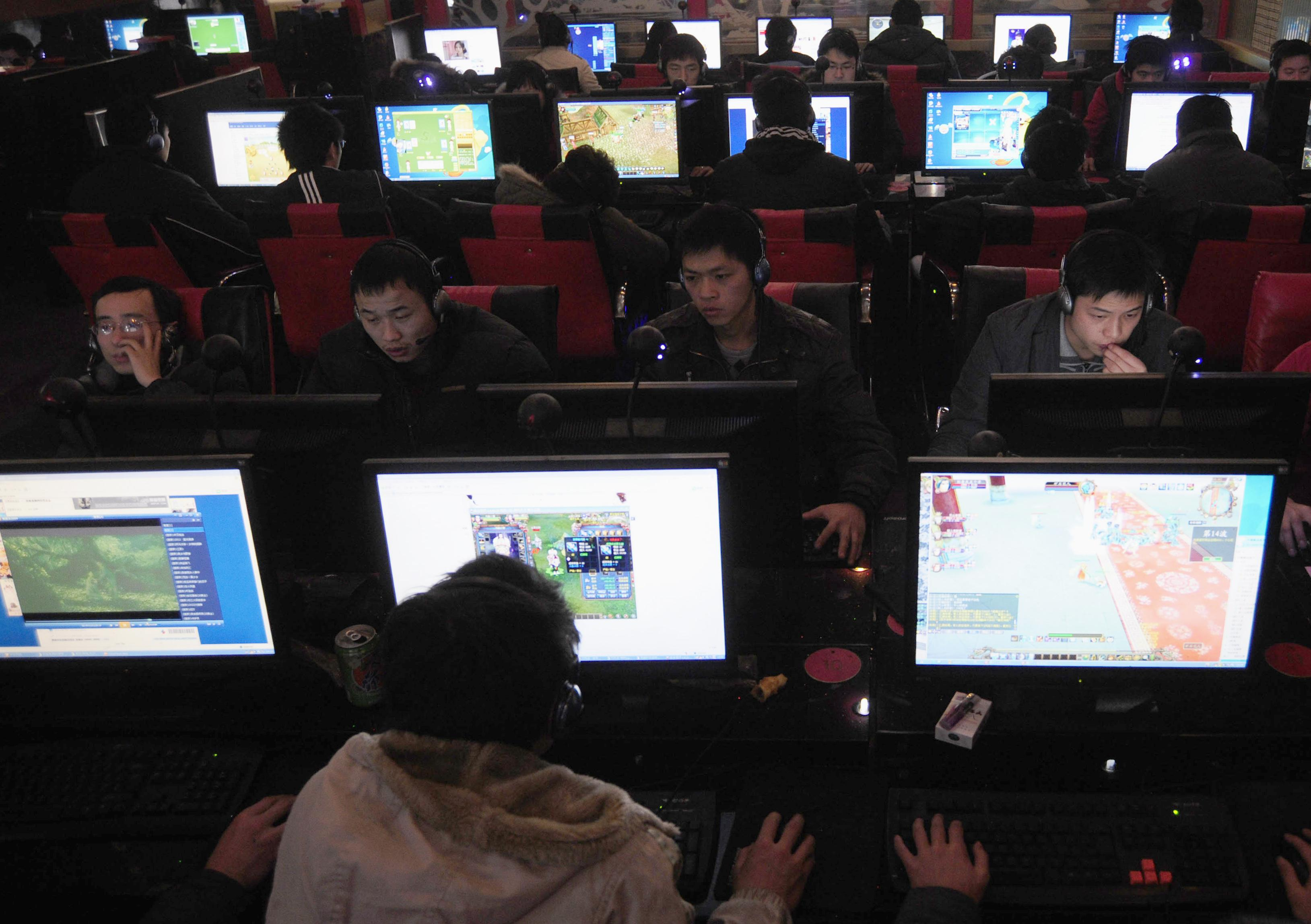 Enigma Internet Cafe China