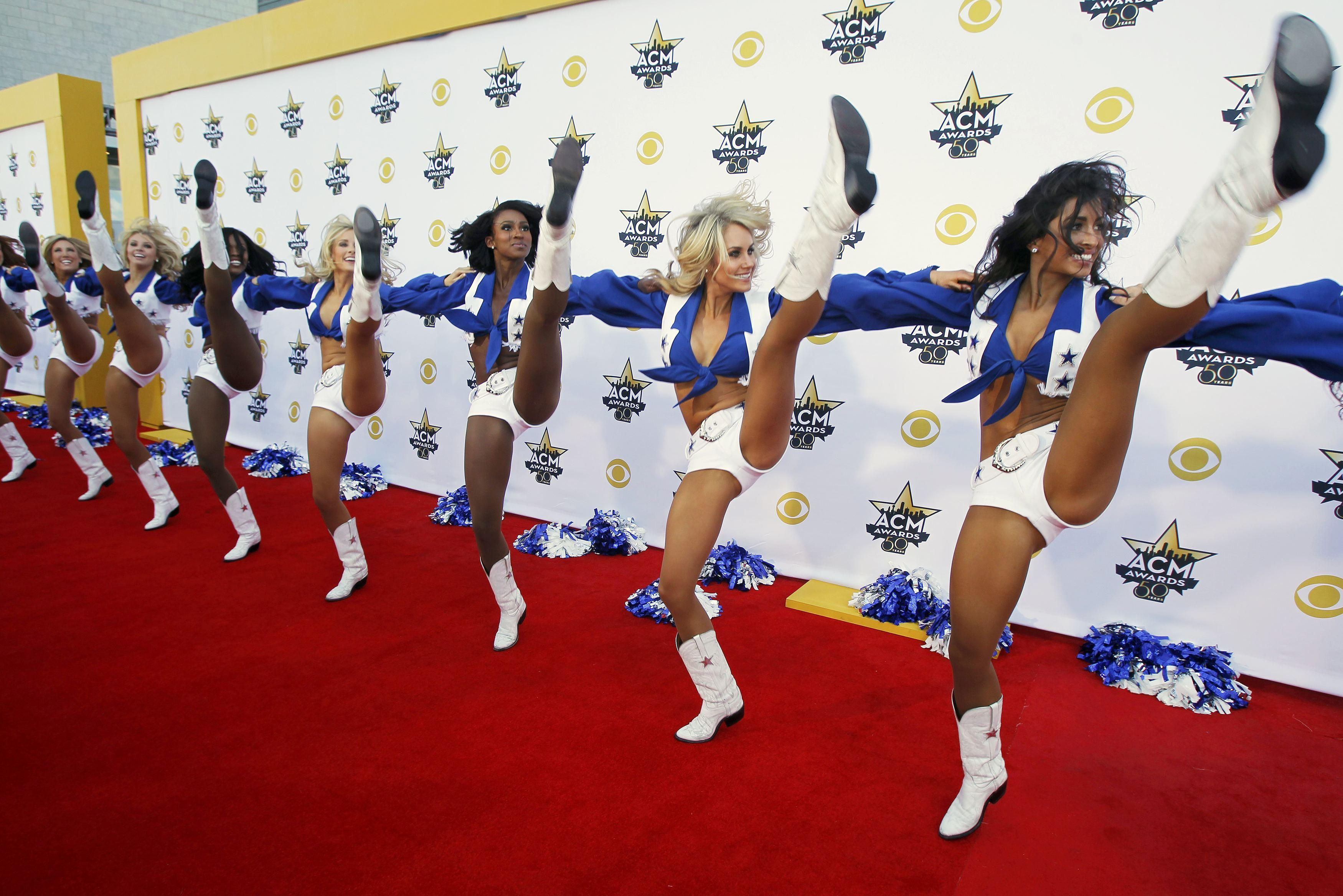 Dalla Cowboys cheerleaders