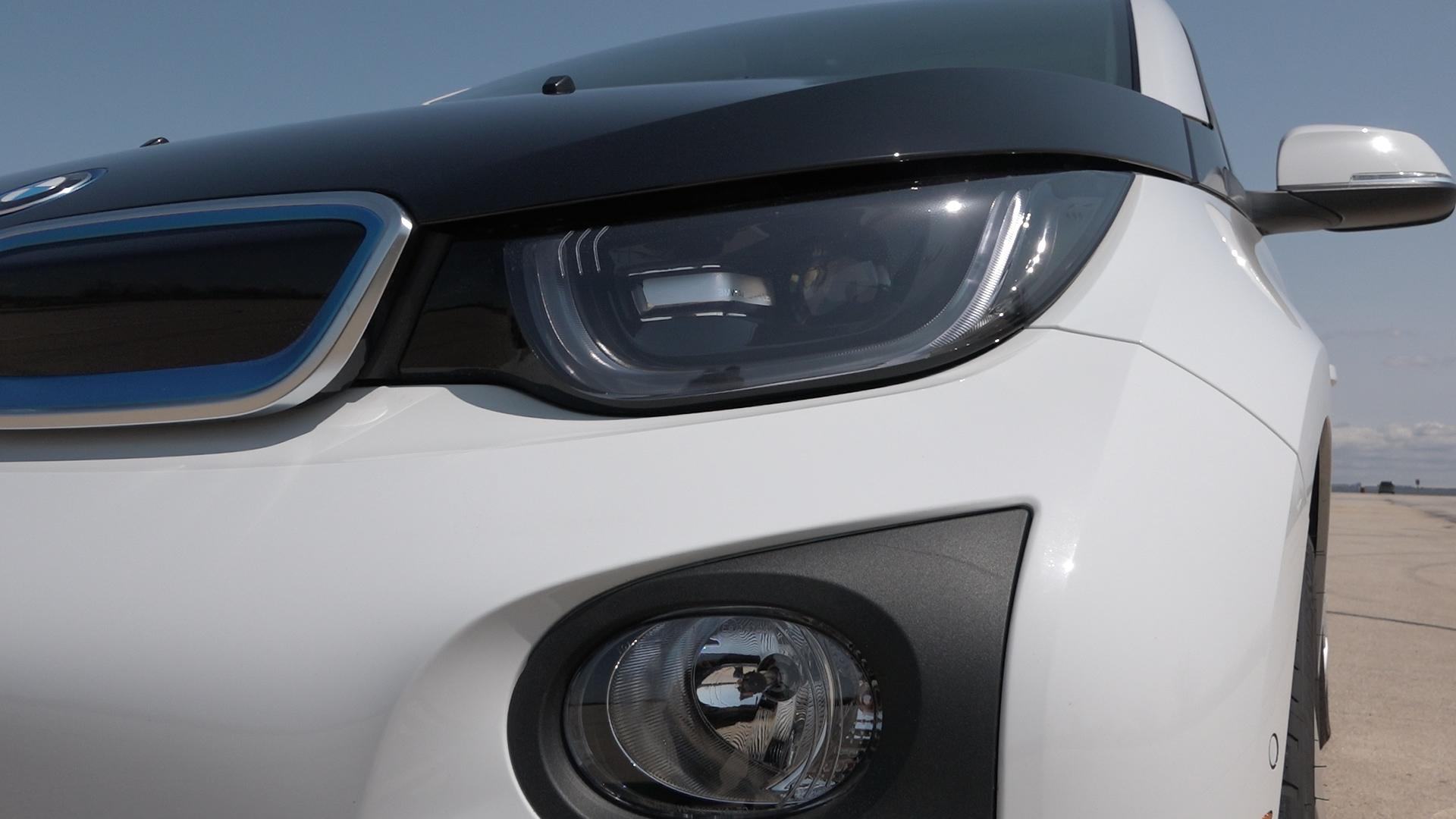 BMW i3 closeup