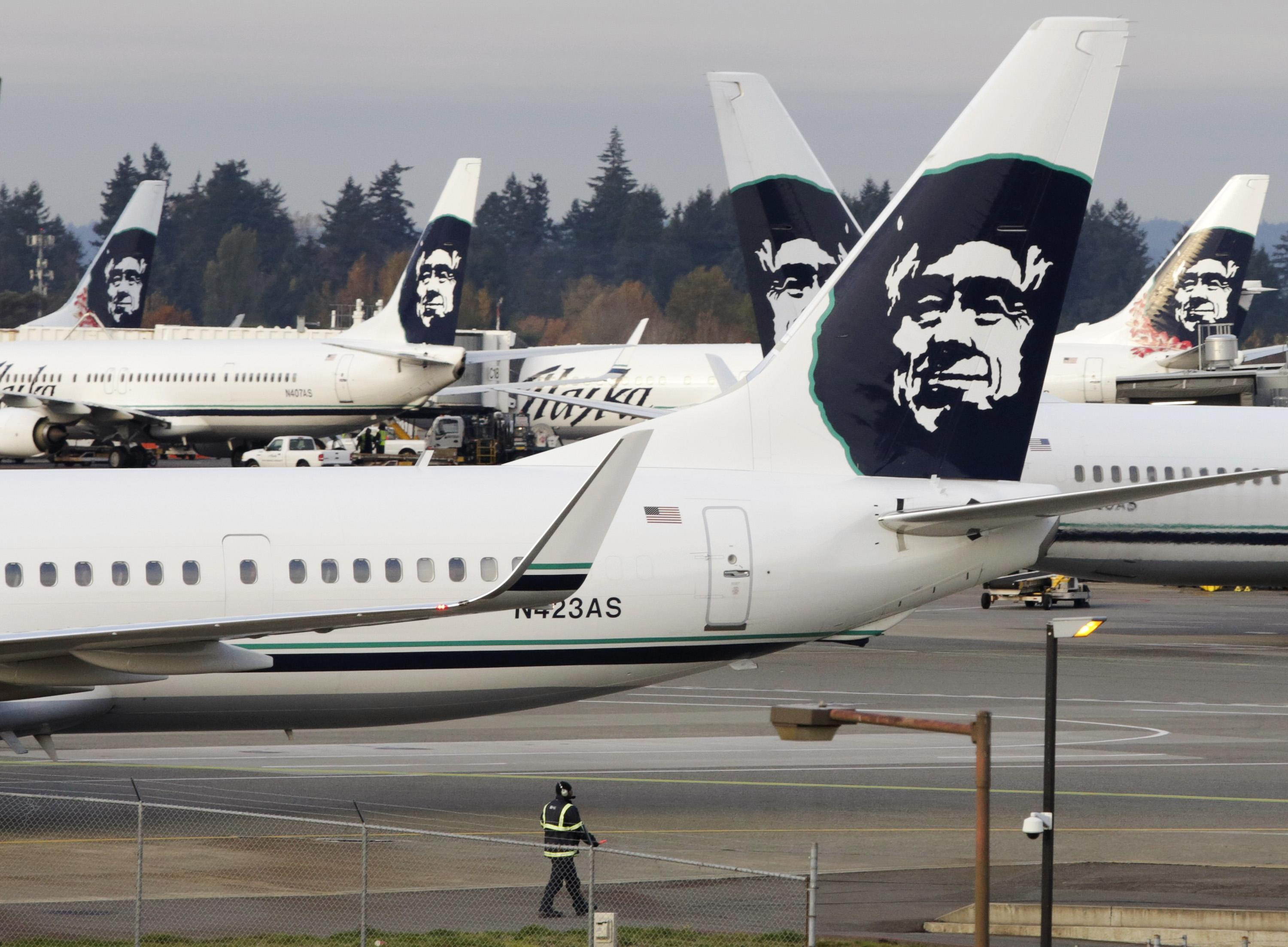 Bare passenger forces Alaska Airways aircraft to land