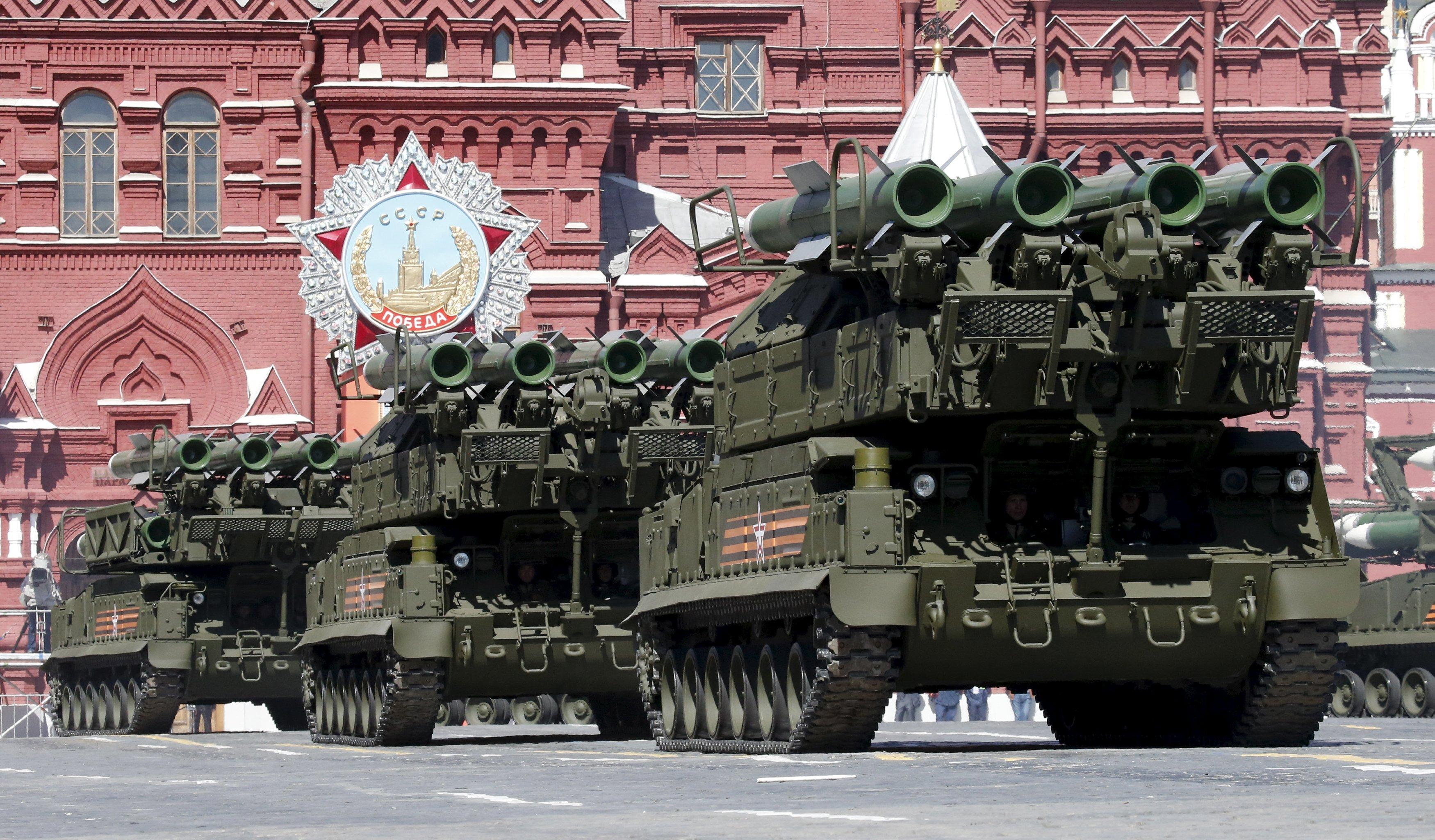 The Buk is reported to be the same missile system that show down MH17