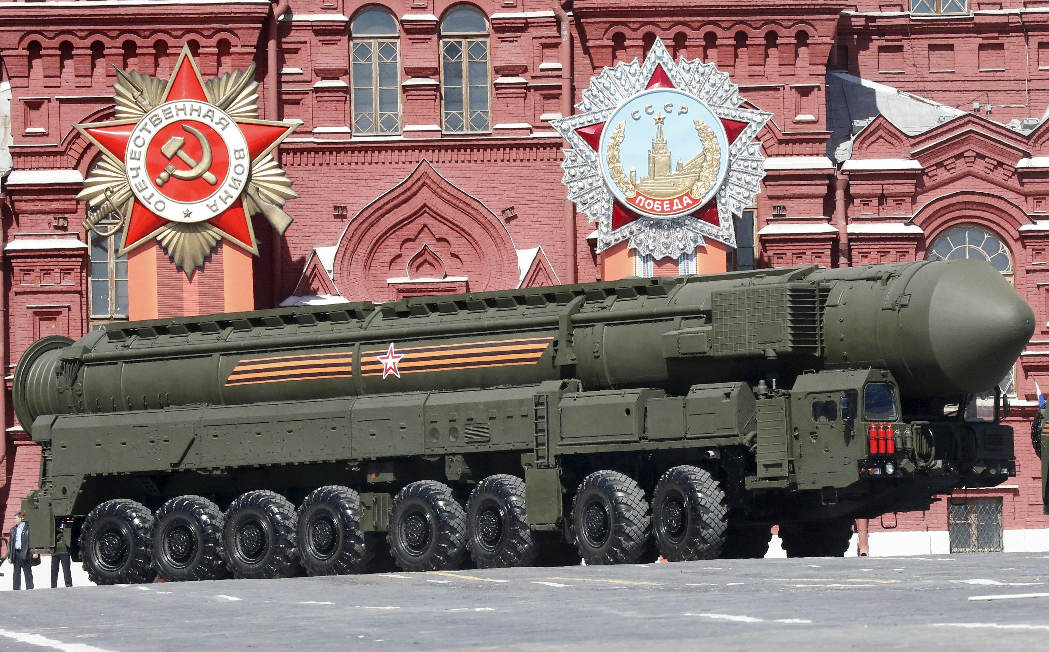 One of the most recognizable elements to Russia's Victory Day parade.