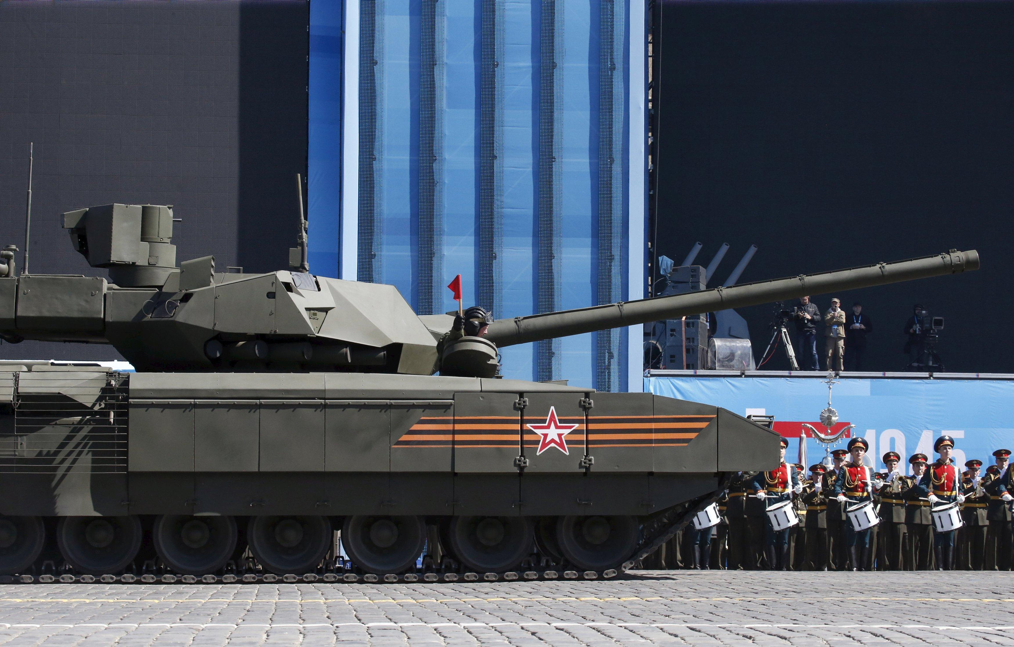 Russia's newest tank